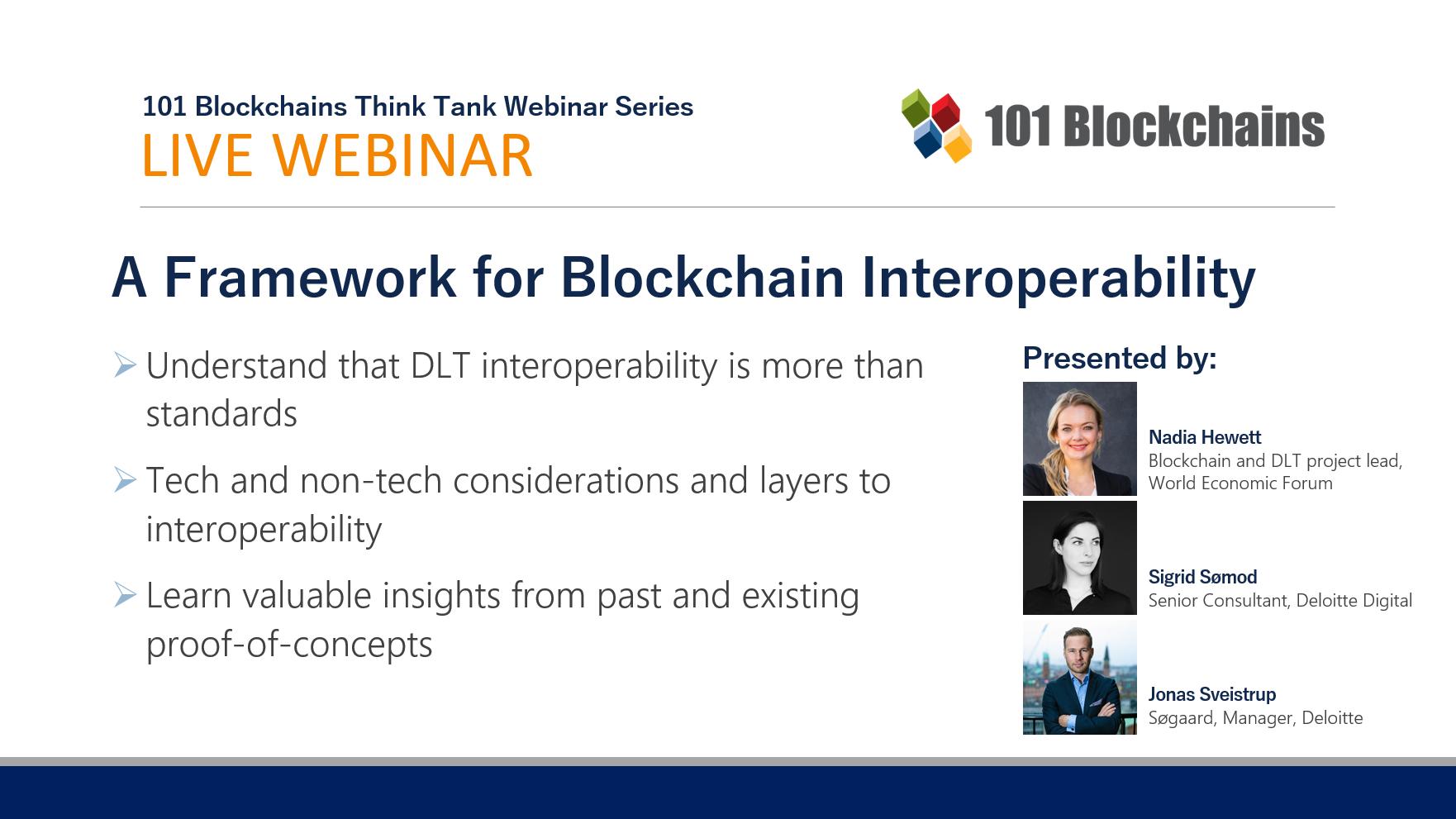 webinar blockchain interoperability