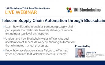 webinar telecom supply-chain blockchain