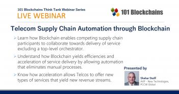 webinar telecom supply-chain blockchain