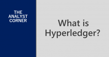analyst comment what is hyperledger
