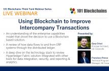 webinar blockchain transactions