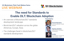webinar need for blockchain dlt standards