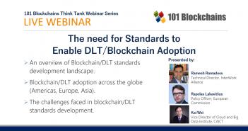 webinar need for blockchain dlt standards