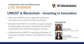 webinar unicef investing in blockchain
