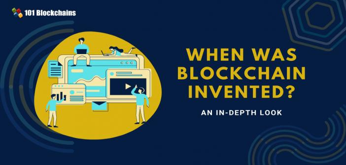 when blockchain invented
