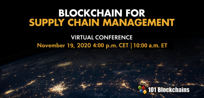 Blockchain for supply chain management conference