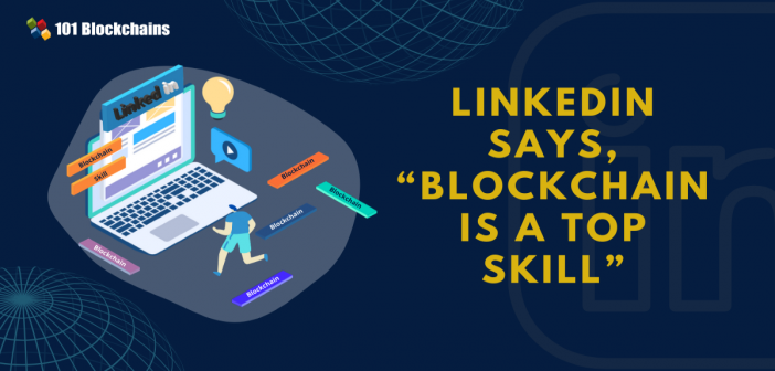 Blockchain is a Top Skill