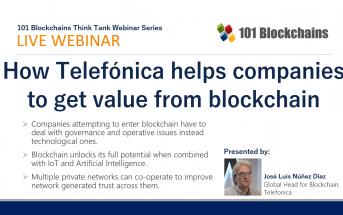 Telefonica Blockchain Webinar