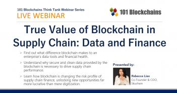 Blockchain in Supply Chain webinar