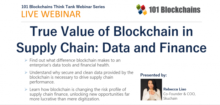 Blockchain in Supply Chain webinar
