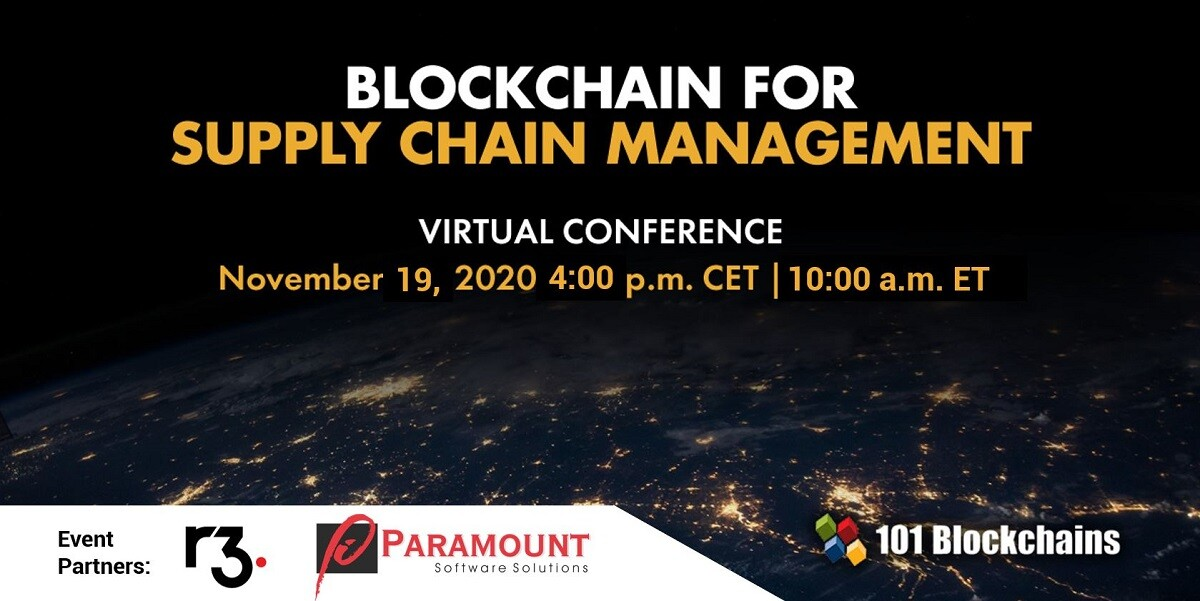 Blockchain for supply chain management conference updates