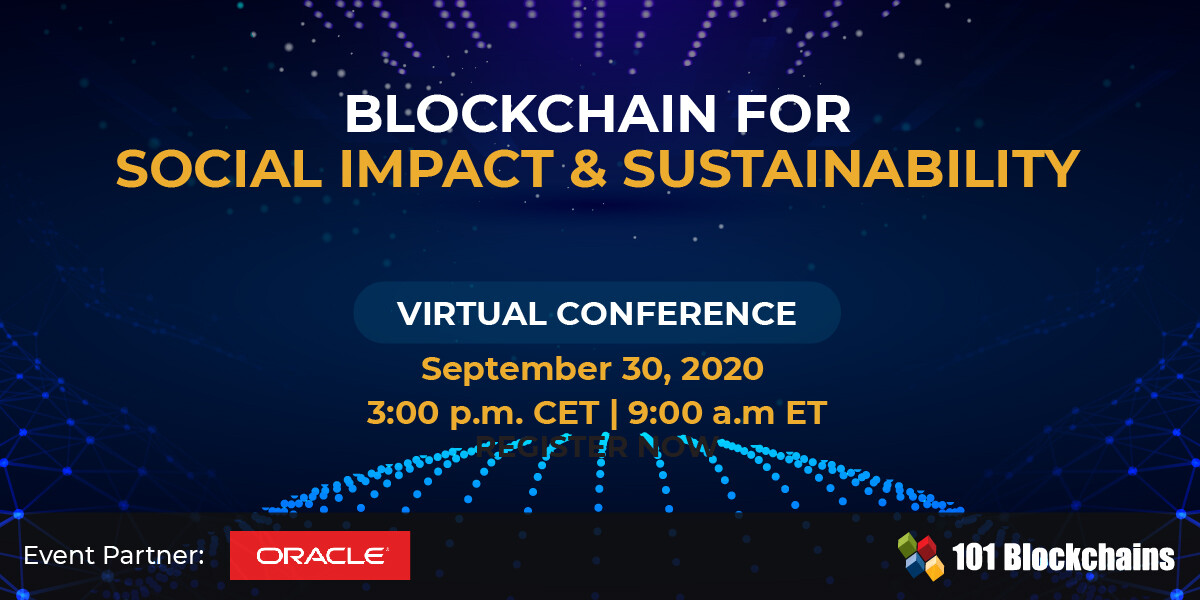 Blockchain for Social Impact and Sustainability - Virtual Conference