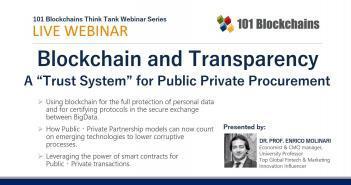 Blockchain for Public Private Procurement Webinar ppp