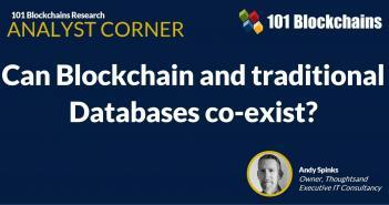 blockchain and traditional database