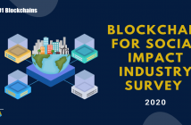 blockchain for social impact survey 2020