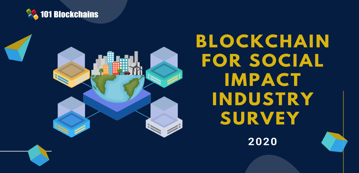 blockchain for social impact survey 2020