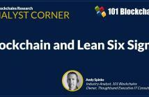 blockchain and lean six sigma