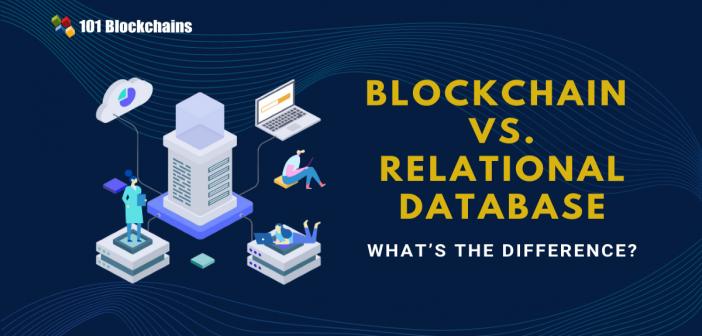 blockchain vs relational database