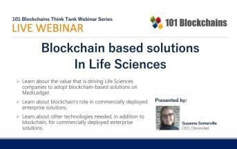 Blockchain based solutions in Life Sciences Webinar