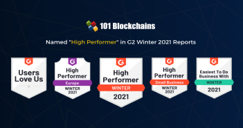 G2 Winter 2021 Reports 101 Blockchains Named as High Performer