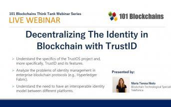 Decentralizing The Identity in Blockchain webinar