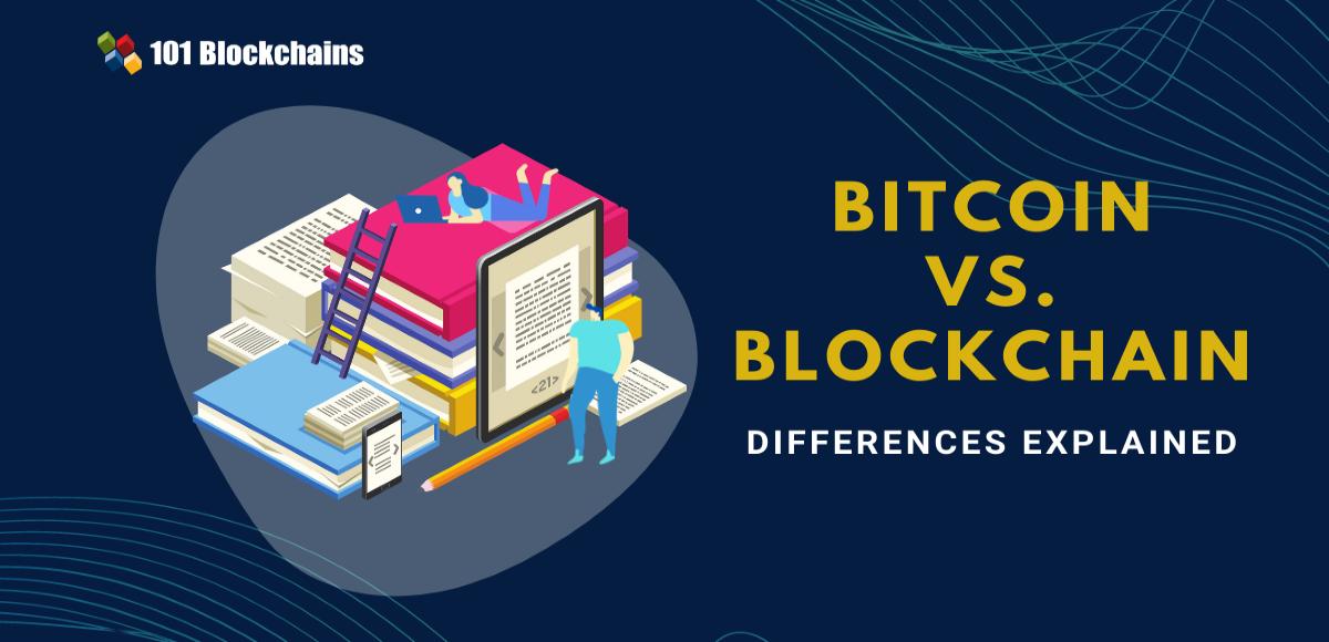 <bold>Bitcoin</bold> <bold>vs</bold>. Blockchain - Differences Explained | 101 Blockchains