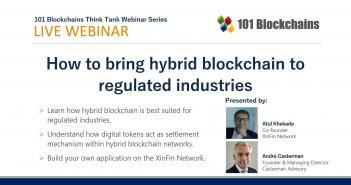 Webinar how to bring hybrid blockchain to regulated industries