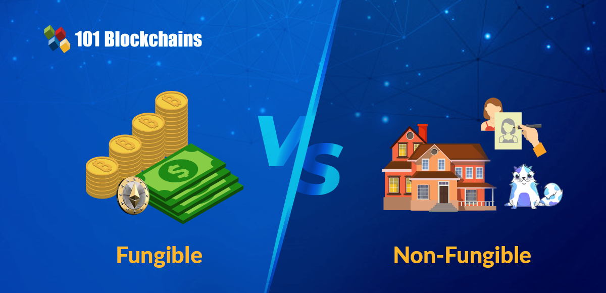 fungible vs non-fungible tokens