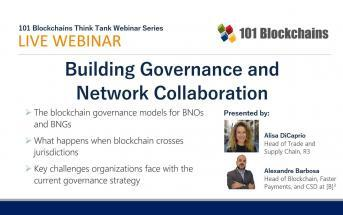 Building Governance and network webinar