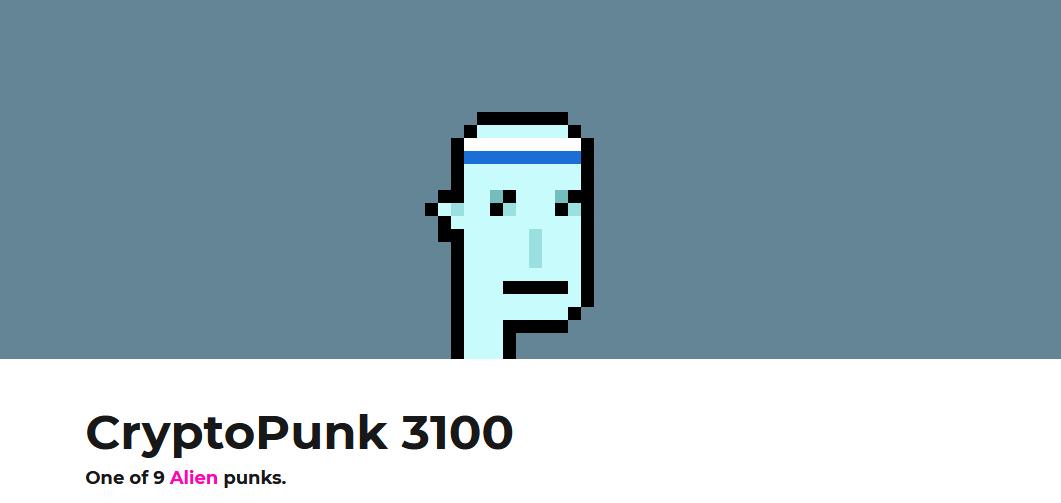 cryptopunk 3100