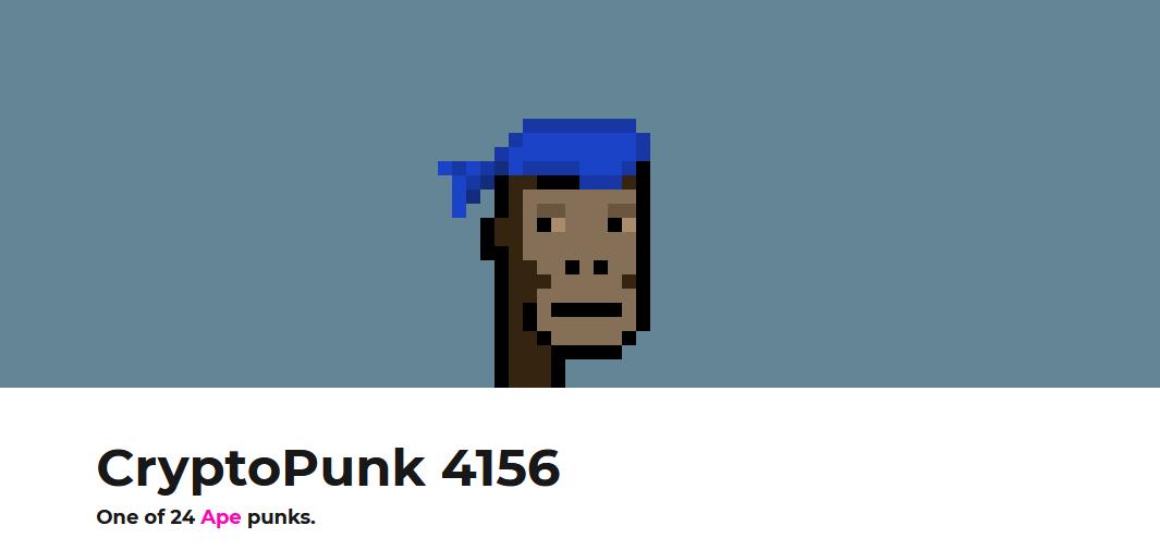 cryptopunk 4156