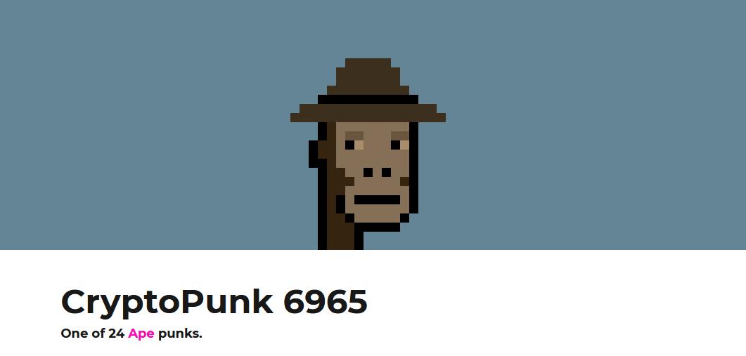 cryptopunk 6965