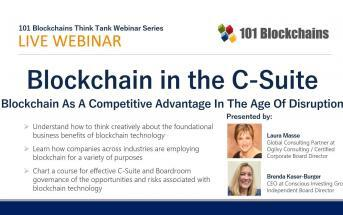 blockchain in the c-suite webinar