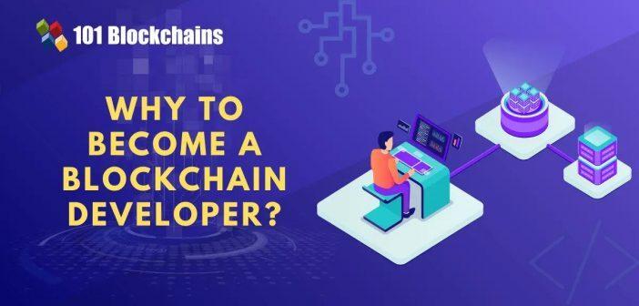 why become a blockchain developer
